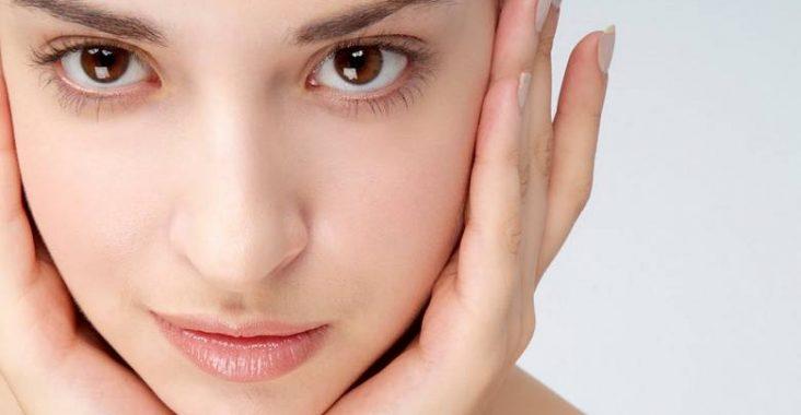 kulit wajah bersinar